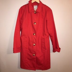 Beautiful Coral Jacket - perfect for fall!